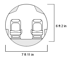 Global 6000 Cross Section