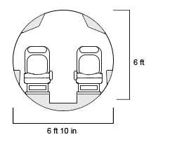 Legacy 450 Cross Section