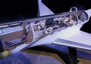 Gulfstream G700 Floor plan