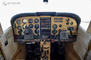 Altivation Cessna 182P Interior