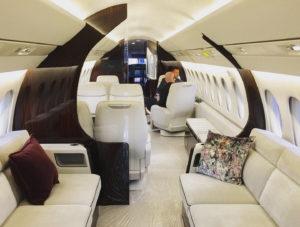 Falcon 6X Interior