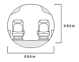 Falcon 6X Cross Section